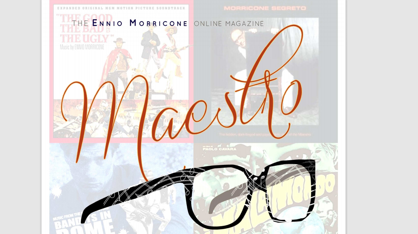 Ennio Morricone Online Magazine - The Maestro